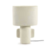 Earth Table Lamp White