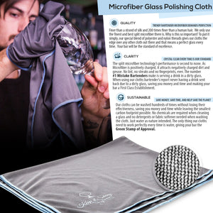 Microfiber Polishing Cloth Infographic