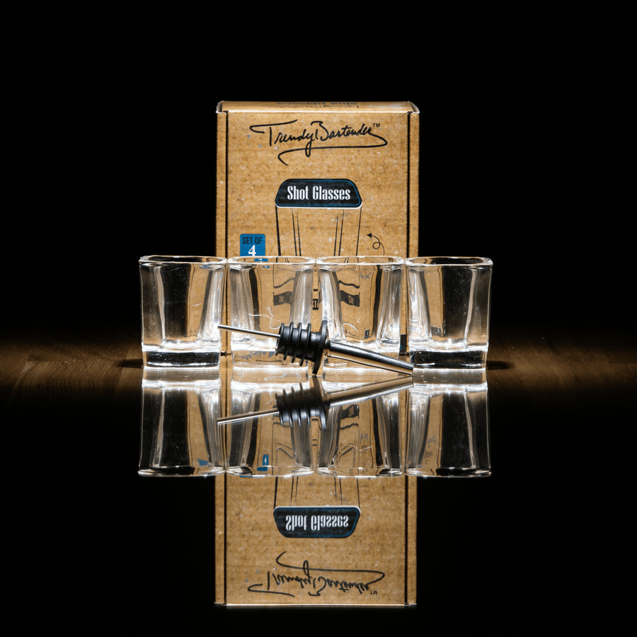 Shot Glasses Set by Trendy Bartender