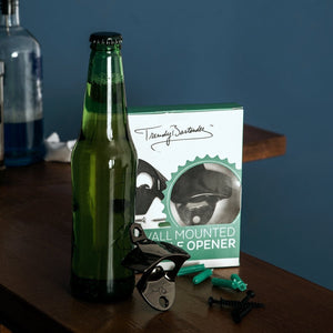 Black Wall Mount Bottle Opener (2 Pack)
