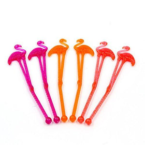 Flamingo Drink Stirrers (50 pack)