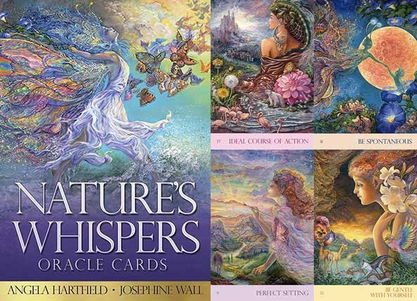 Nature's Whispers Oracle | Cartomancy | Divination Tool | Tarot Deck | Cards | Major Arcana | Guide book | Pagan | Witchy | Magic