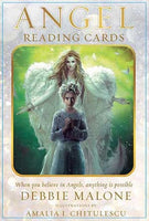 Angel Reading Oracle Cards + Guide book | Cartomancy | Tarot Deck | Divination | Arcana
