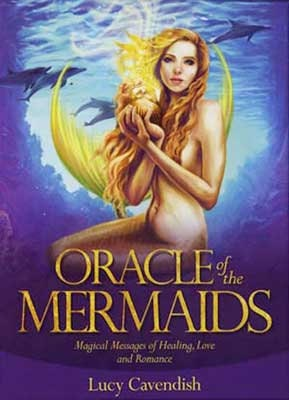 Oracle of the Mermaids | Cartomancy | Divination Tool | Tarot Deck | Cards | Major Arcana | Guide book | Pagan | Witchy | Magic
