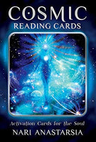 Cosmic Reading Cards  Oracle Cards + Guide book | Cartomancy | Tarot Deck | Divination | Arcana