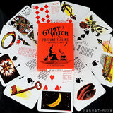 Gypsy Witch Fortune Telling Oracle Cards + Guide book | Cartomancy | Tarot Deck | Divination | Arcana