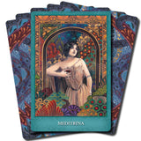 Mystic Sisters  Oracle Cards + Guide book | Cartomancy | Tarot Deck | Divination | Arcana