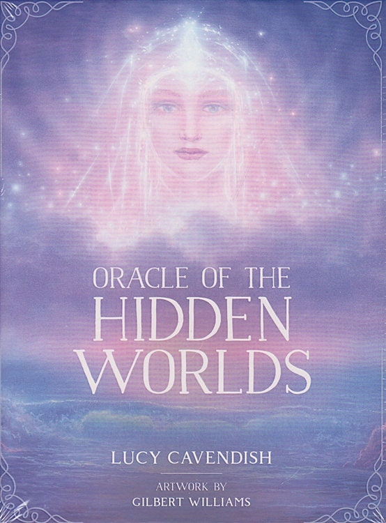 Oracle of the Hidden Worlds Oracle Cards| Cartomancy | Divination Tool | Tarot Deck | Major Arcana | Guide book | Pagan | Witchy | Magic