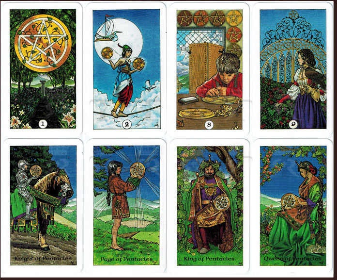 Robin Wood Tarot Deck | Cartomancy | Divination Tool | Oracle Cards | Major Arcana | Guide book | Pagan | Witch Magic | Fortune | artwork