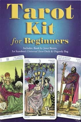 Tarot Kit for Beginners deck | Cartomancy | Divination Tool | Oracle Cards | Major Arcana | Guide book | Pagan | Witch Magic | artwork