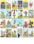 Rider-Waite tarot deck | Cartomancy | Divination Tool | Oracle Cards | Major Arcana | Guide book | Pagan | Witch Magic | Fortune