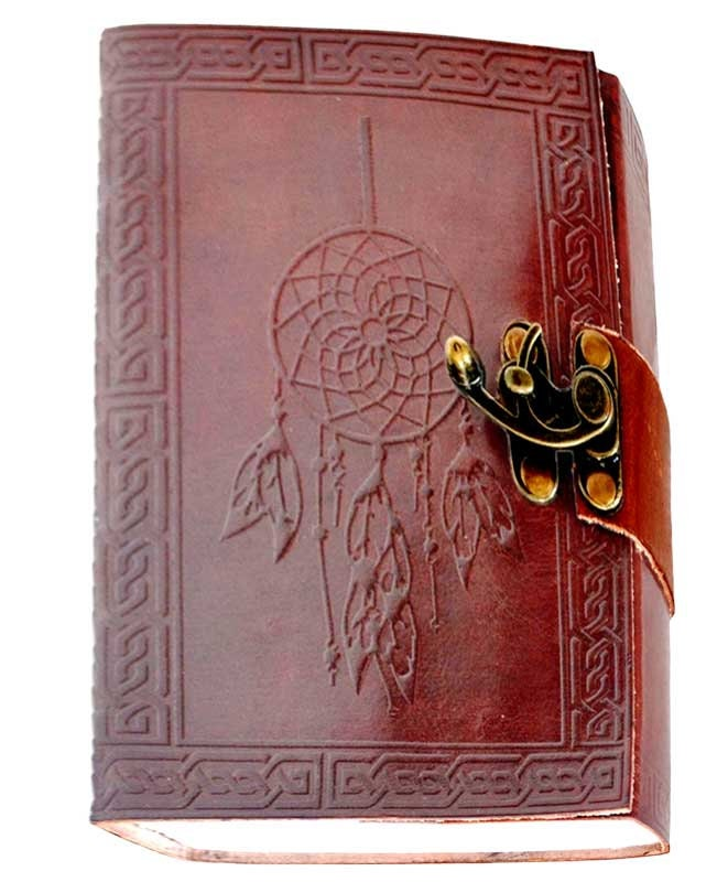 "5"" X 7"" Dream Catcher Altar Journal w/ latch 