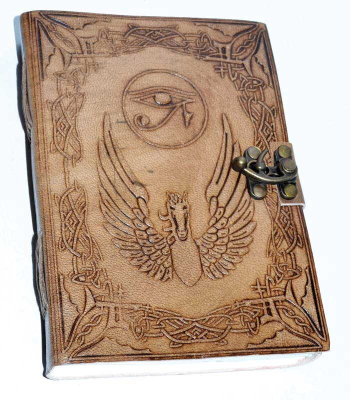 "5"" X 7"" Eye of Horus Altar Journal w/ latch 