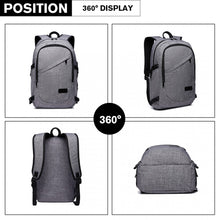 Load image into Gallery viewer, USB Business, Laptop Backpack