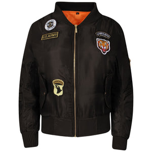 Air Force Bomber Biker Jacket