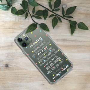 FRIENDS Quote Print Phone Case