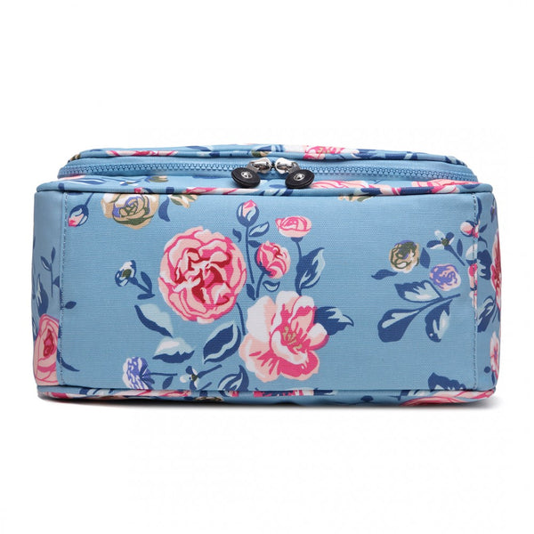 Floral Print Toiletry Travel Bag