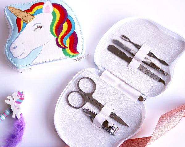 Unicorn Manicure Kit 5 Piece