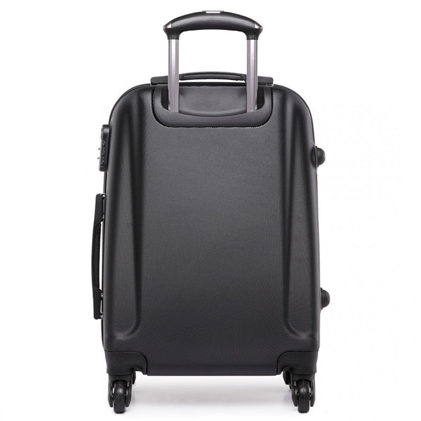 "20"" Hard Shell 4 Wheel Spinner Suitcase, ABS Cabin Luggage"