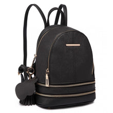 Load image into Gallery viewer, Leather Look Small Fashion Backpack