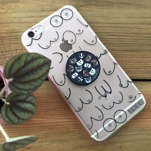 Kitty Cat Phone Grip Socket