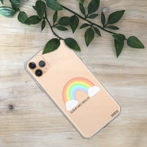 Rainbow, We'll Make It Through Phone Case
