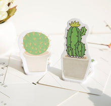 Load image into Gallery viewer, Mini Cactus Sticky Memo Pads