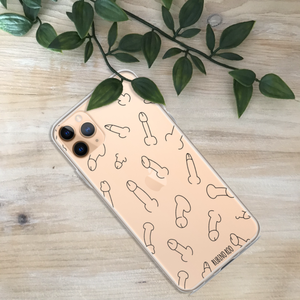 Penis Willy Print Phone Case