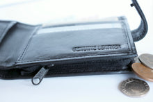 Load image into Gallery viewer, Black Sheep Nappa Leather RFID Protected Wallet, 4 Card Slots