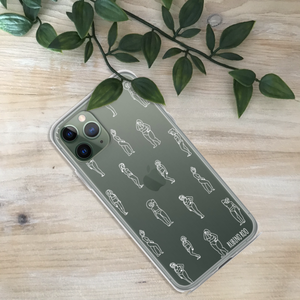 Women Body Print Phone Case