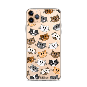 Kitty Cat Print Phone Case