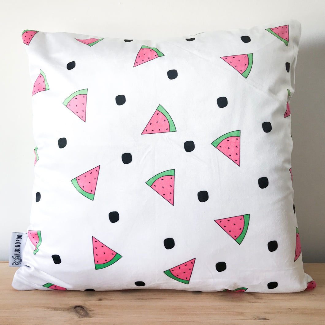 Watermelon Print Cushion Cover