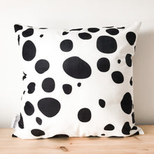 Load image into Gallery viewer, Dalmatian Large Print Black & White Spot Cushion Cover