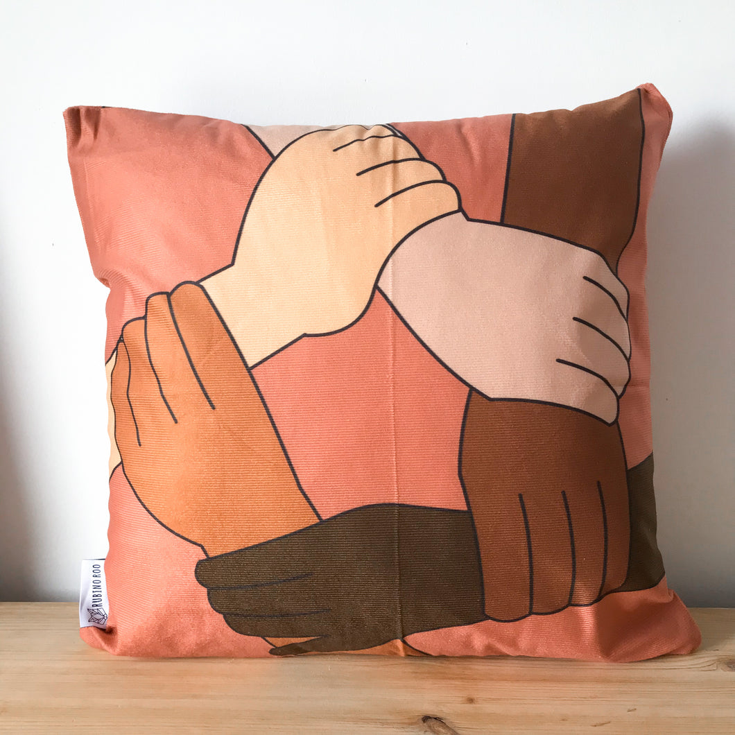 Diversity Print Cushion Cover