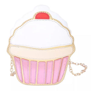 Cupcake PU Leather Bag
