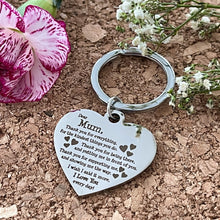 Load image into Gallery viewer, Engraved Stainless Steel, Mum Keyring