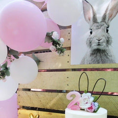 How to throw a Birthday Party with a Bunny Theme