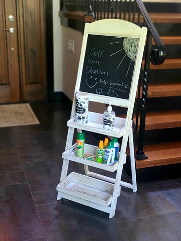 Wedding Chalkboard Sanitary Station