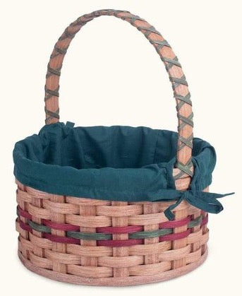 Easter Basket with Blue