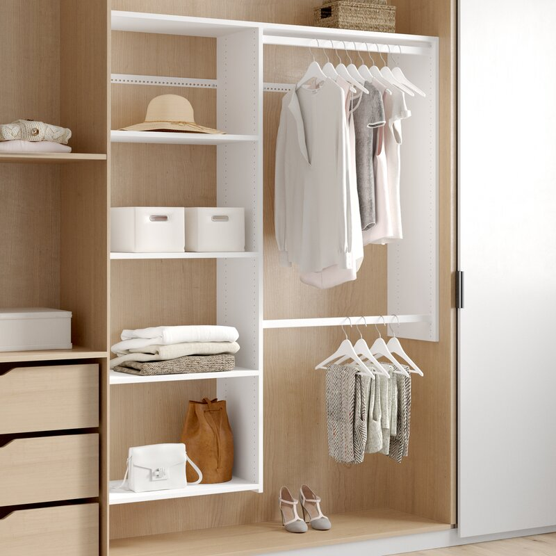 Closet storage ideas for entryway