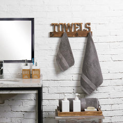 Wall Mounted Towel Rack