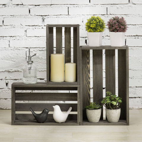 Wood Crate Decor