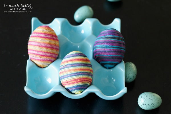 Egg Decor Idea: Twine
