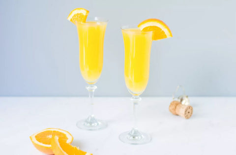 Yellow Drink in Glass