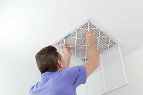 Air Conditioning Filter Replacing