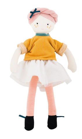 French Fabric Doll