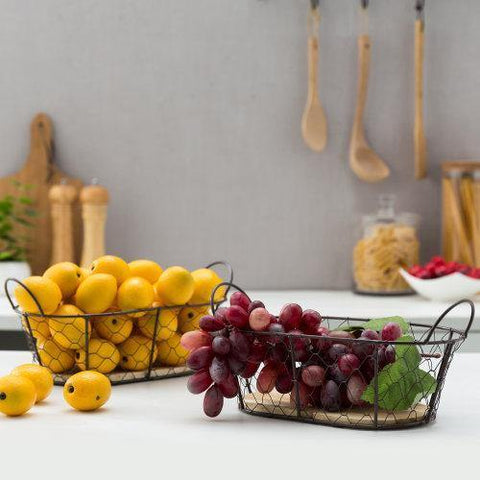 Fruit Baskets with Fruit