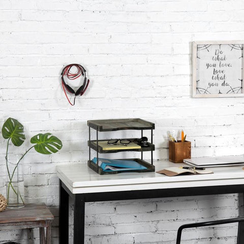 Tiered Document Tray