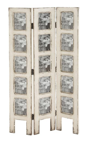 Distressed Ivory Screen