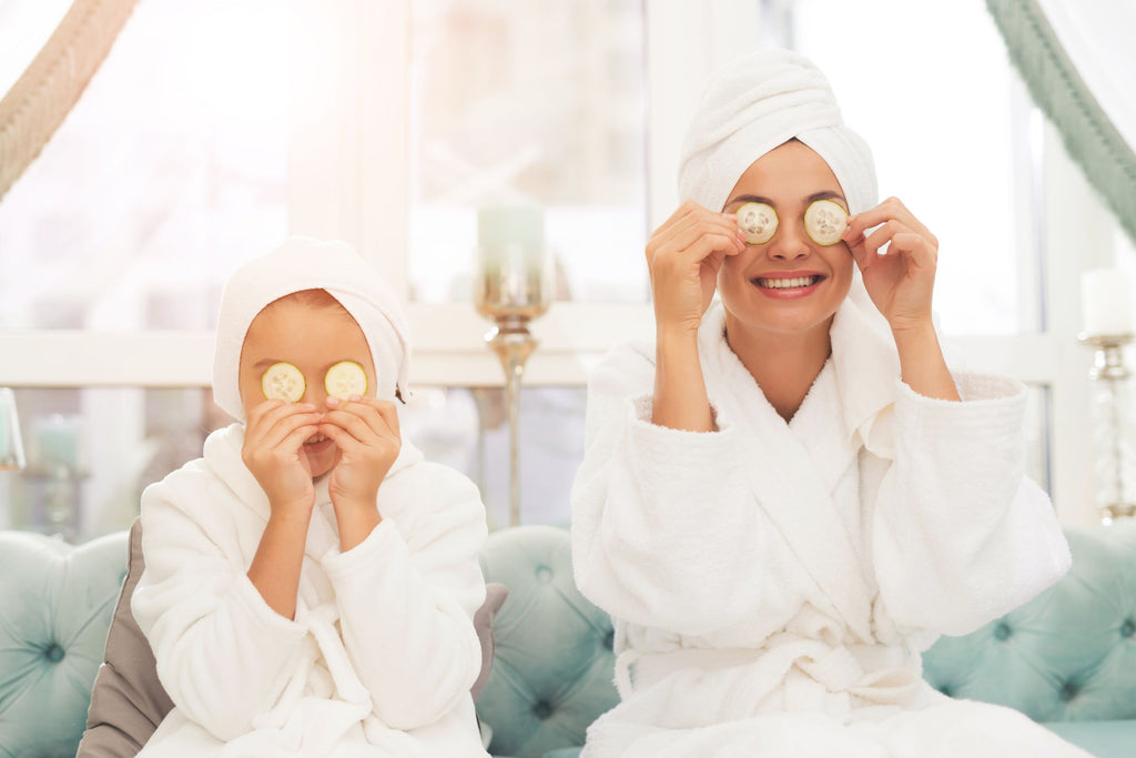 Spa plan with Mom
